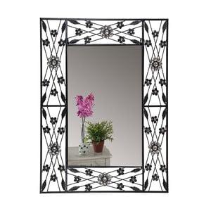 Nástenné zrkadlo Baroque Flower, 80x60 cm
