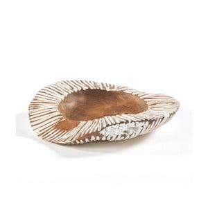 Miska z dreva a keramiky Thai Natura, Ø40 cm