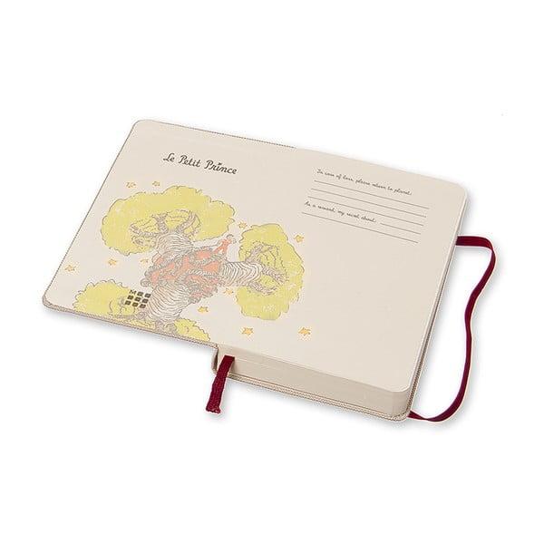 Denný diár Moleskine Le Petit Prince, 9x14 cm