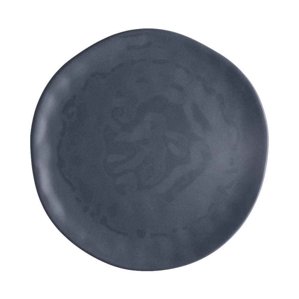 Svetlosivý porcelánový tanier na pizzu Brandani Pizza, ⌀ 31 cm