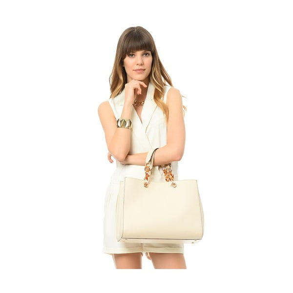 Kabelka Beverly Hills Polo Club 448- Cream