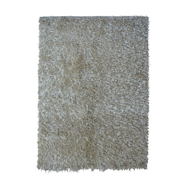 Sivobéžový koberec Webtappeti Shaggy, 75 x 155 cm