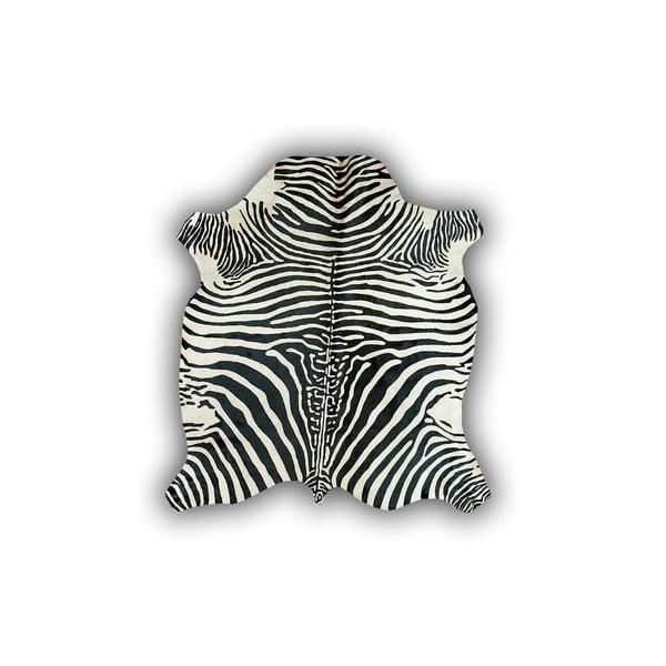 Kožená predložka s motívom zebry Pipsa Normand Cow, 170×190cm
