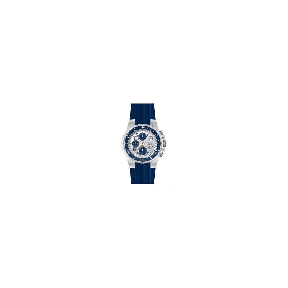 Pánske hodinky Slazenger Silver-Blue  b28cf75af2e