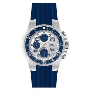 Pánske hodinky Slazenger Silver-Blue