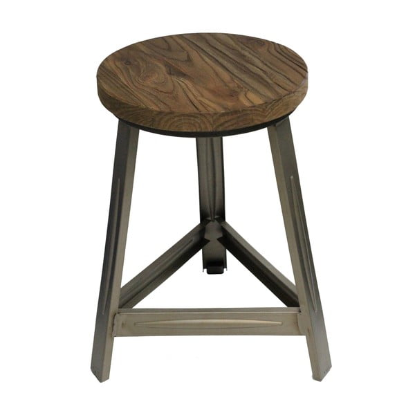 Stolička so sivými nohami Red Cartel Trapist