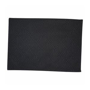 Čierne bavlnené prestieranie Green Gate Celine, 40 × 50 cm