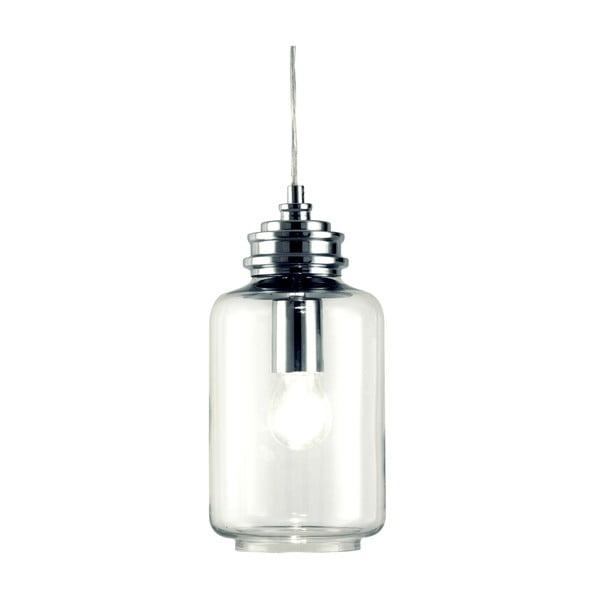Závesné svietidlo Scan Lamps Jar Silver