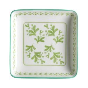 Sada 6 servírovacích tanierov Culinary Delight Plant, 12,5×12,5 cm