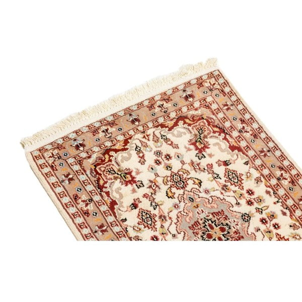 Ručne viazaný koberec Kashmirian, 90x59 cm