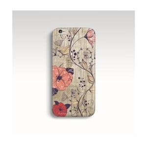 Obal na telefón Wood Floral pre iPhone 6/6S