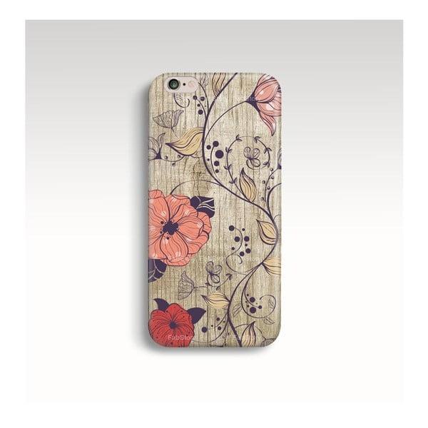 Obal na telefón Wood Floral pre iPhone 6+/6S+