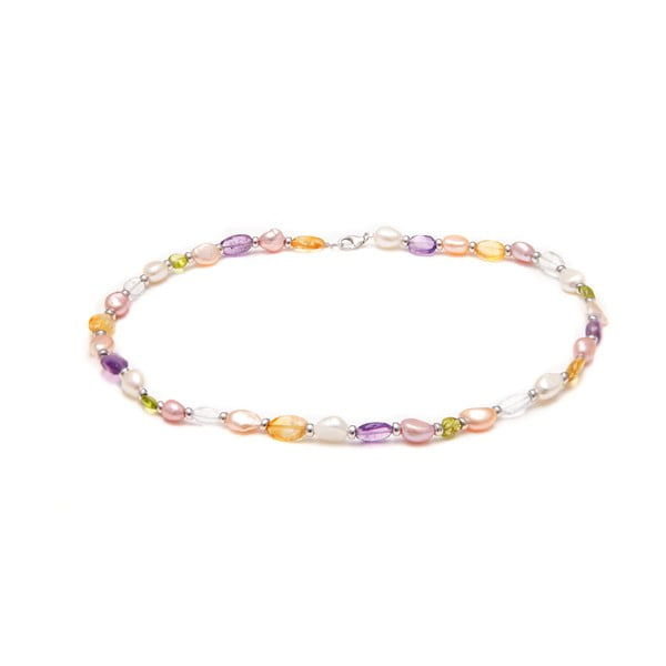 Perlový náhrdelník GemSeller Viola
