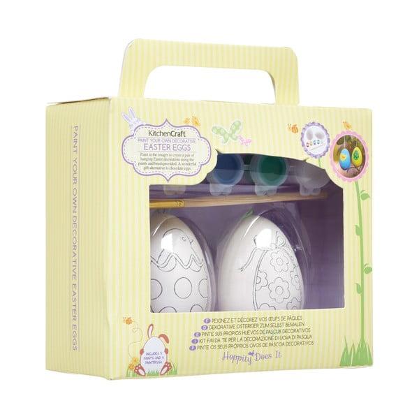 Sada keramických vajíčok k vymaľovaniu Hoppity
