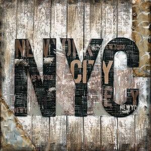 Ručne maľovaný obraz Eurographics NYC