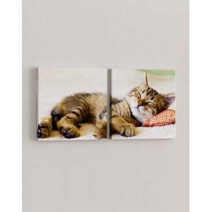 Sada 2 obrazov Sladko spí