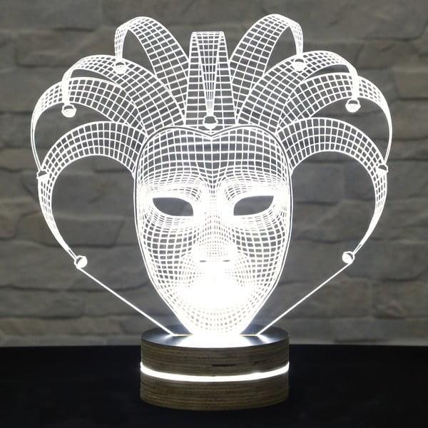 3D stolová lampa Glam Mask