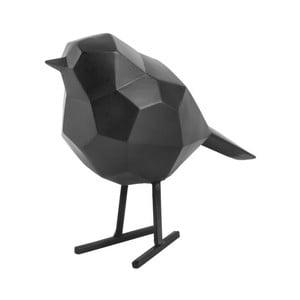 Čierna dekoratívna soška PT LIVING Bird Small Statue