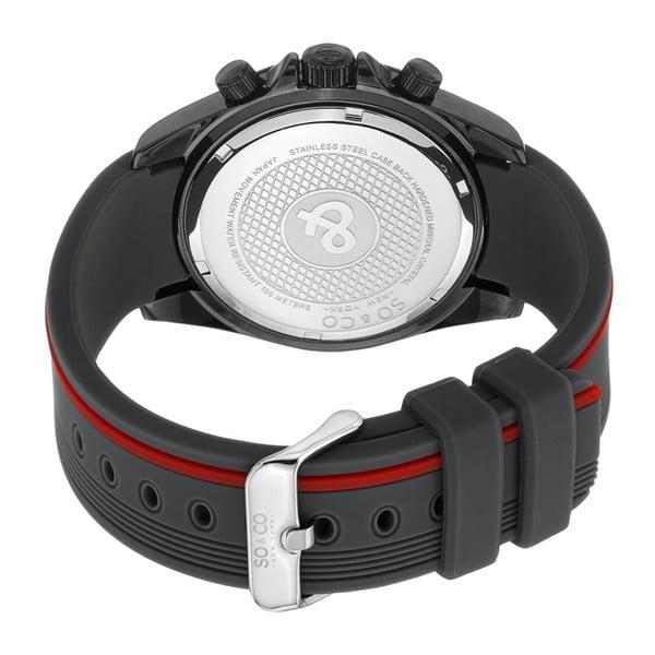 Pánske hodinky Monticello Time Red/Black