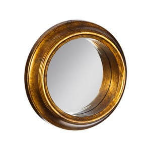 Zrkadlo v zlatej farbe  Ixia Goldie, ⌀37cm