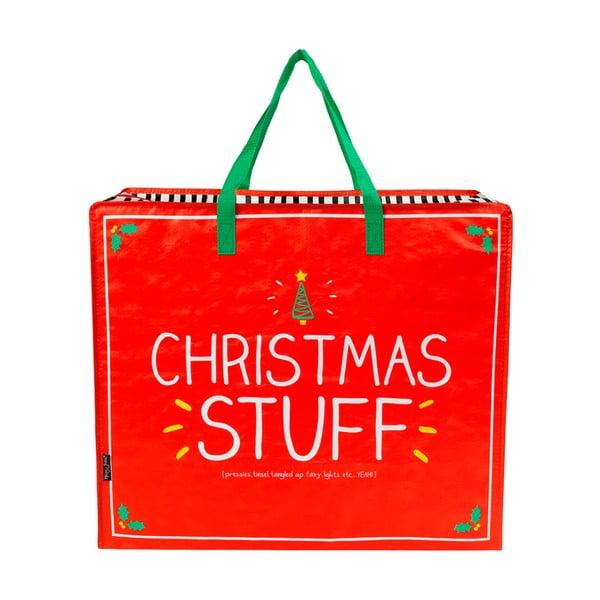 Taška so zipsom na vianočné darčeky Happy Jackson Christmas Stuff