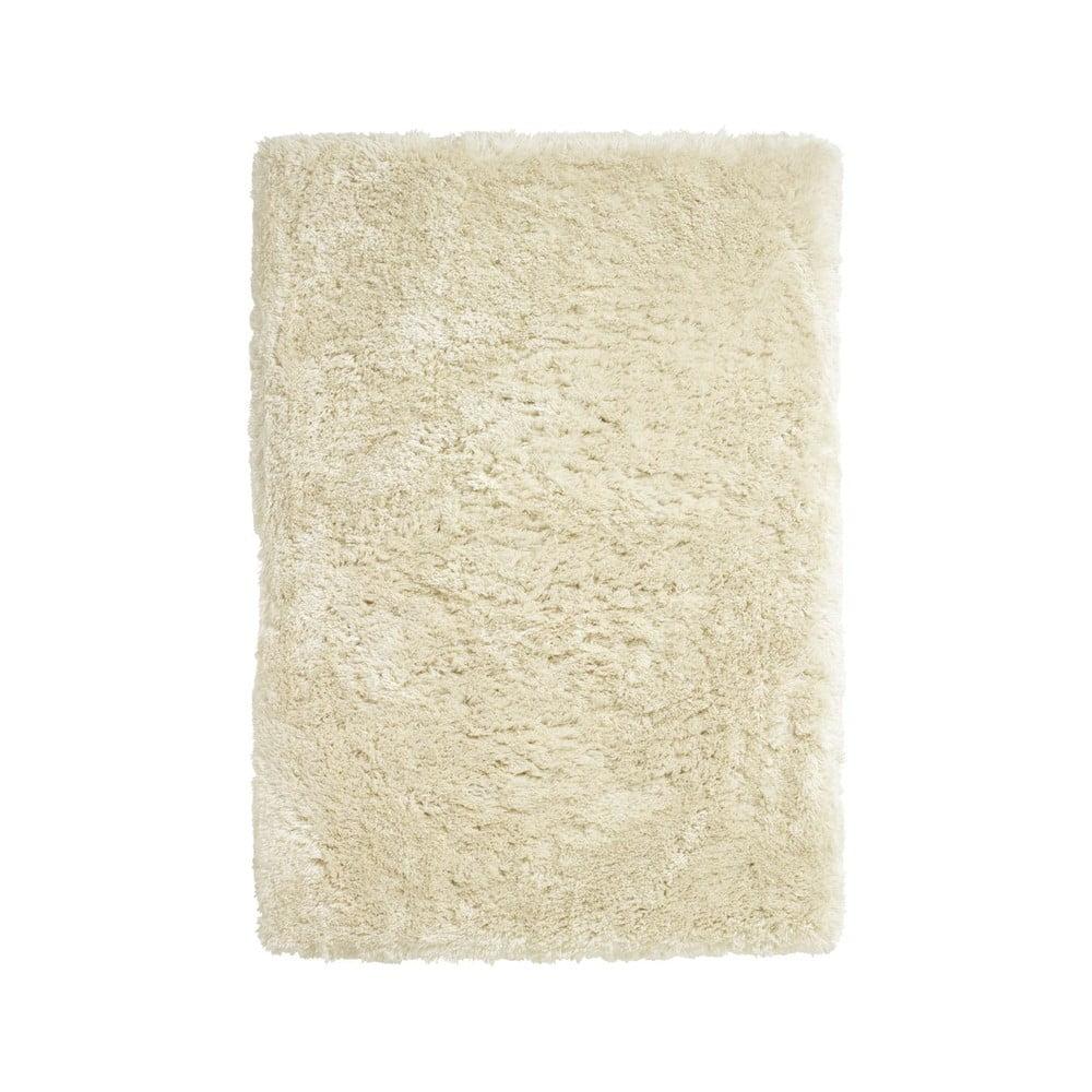 Svetlokrémový ručne tuftovaný koberec Think Rugs Polar PL Cream, 120 × 170 cm