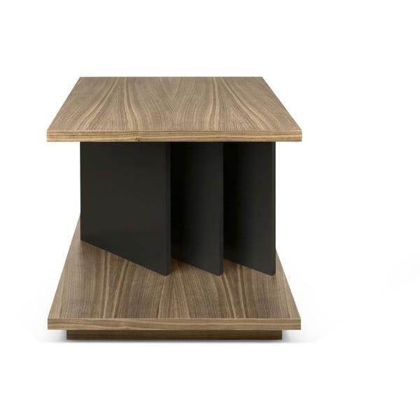 Odkladací stolík v dekore orechového dreva TemaHome Goa
