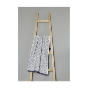 Sivý bavlnený uterák My Home Plus Spa, 50×90 cm