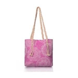 Ružová taška Homedebleu Lace, 50×40cm