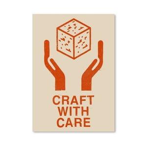 Plagát Craft With Care 1 od Florenta Bodart, 30x42 cm