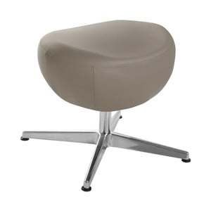 Sivohnedá otočná stolička/podnožka My Pop Design Gentils