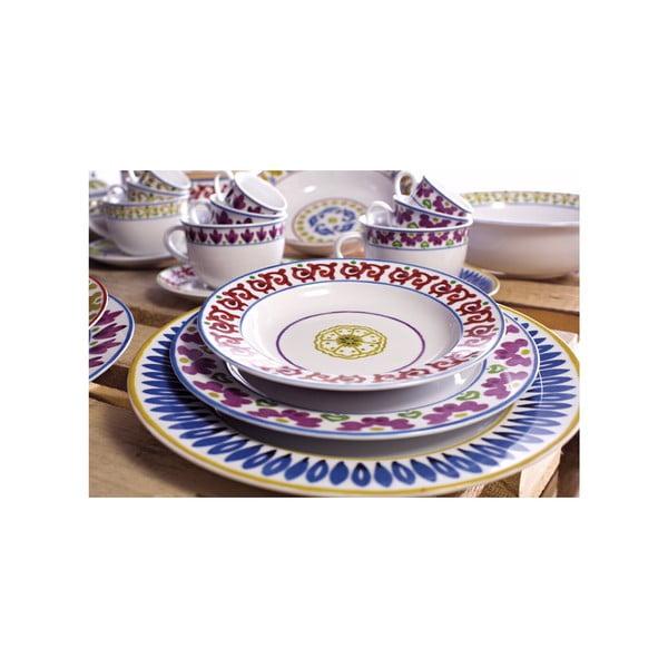 Sada 6 polievkových tanierov Toscana Montalcino, 22.5 cm