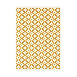 Žltý koberec Hanse Home Celebration Raggo, 120 x 170 cm