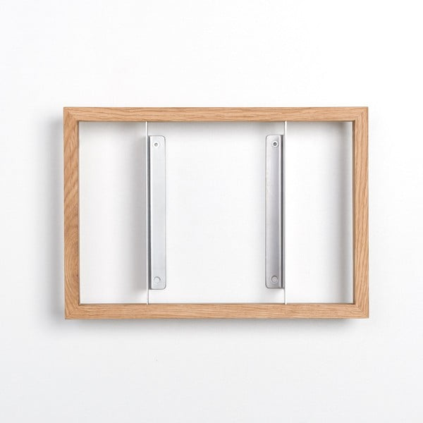 Polica na knihy z dubového dreva das kleine b b1, výška 22cm