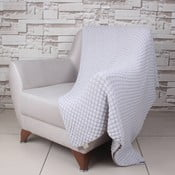 Sivá bavlnená deka Ciana