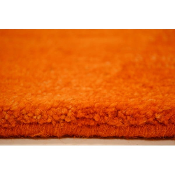 Vlnený koberec Palpa Orange, 70x140 cm