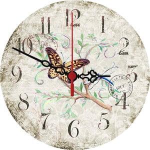 Nástenné hodiny Stamp, 30 cm
