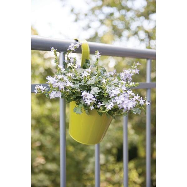 Sada 2 závesných kvetináčov na balkón Esschert Design Magic, šírka 16 cm