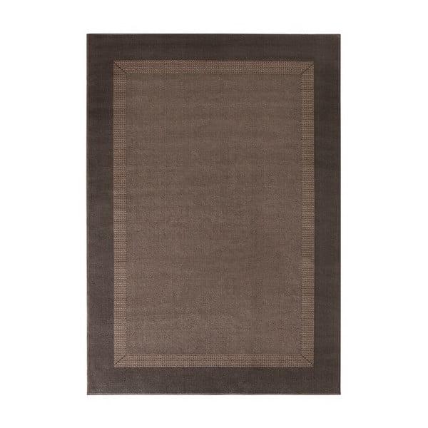 Koberec Basic, 120x170 cm, hnedý