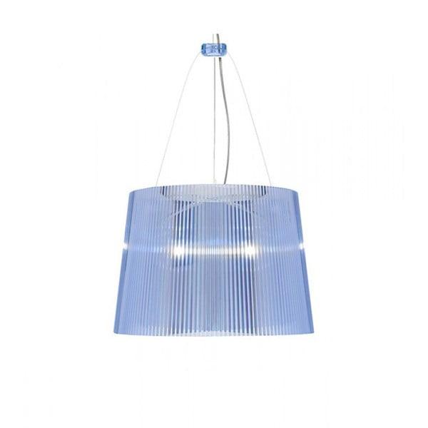Stropné svietidlo Kartell GÉ Crystal, modré