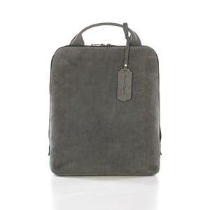 Sivý kožený batoh Gianni Conti Gina