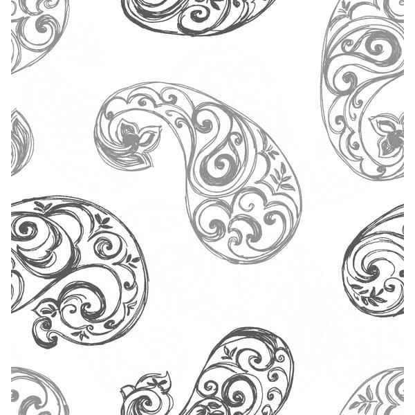 Obliečky Paisley Gris, 240x220 cm