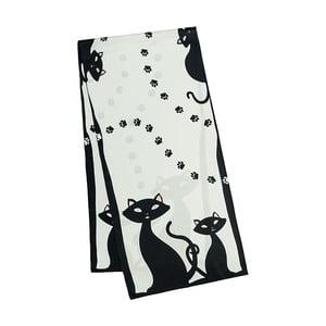 Šatka z hodvábneho saténu Von Lilienfeld Black Cats