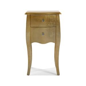 Nočný stolík Versa Gold, 71×40 cm