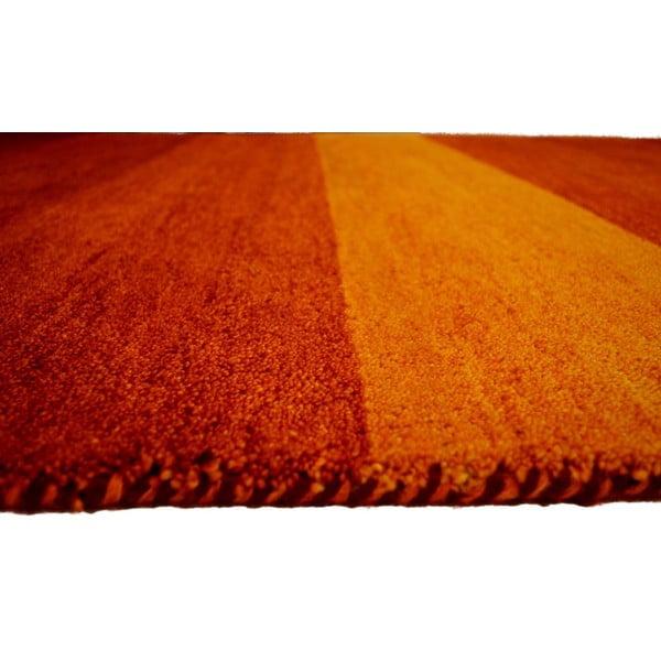 Vlnený koberec Baku Stripe Red, 170x240 cm