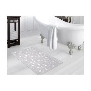 Sivá kúpeľňová predložka Sea, 70×110 cm