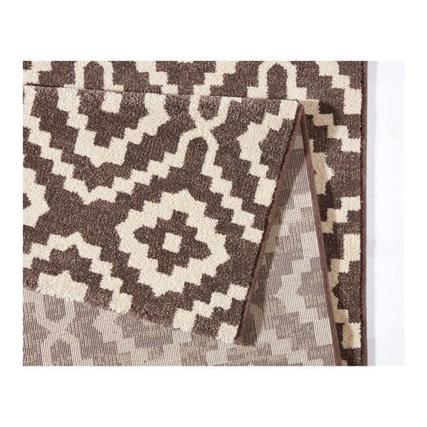 Hnedý koberec Schöngeist & Petersen Diamond Ornamental, 133 x 195 cm