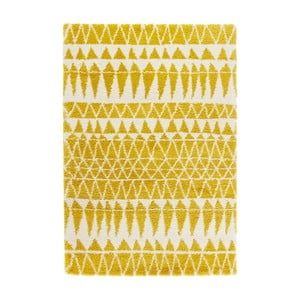 Žltý koberec Mint Rugs Allure Yellow, 80 x 150 cm