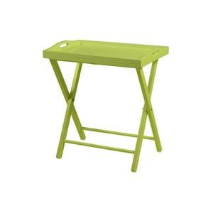 Zelený odkladací stolík Actona Vassoio
