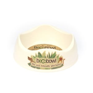 Miska pre psíkov/mačky Beco Bowl 26 cm, prírodná